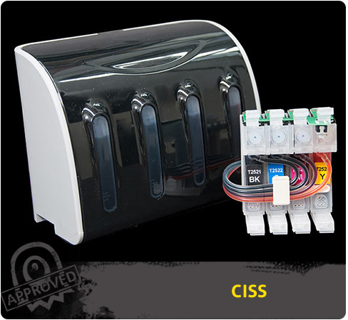 ciss ink system compatible with epson workforce wf 2530. Black Bedroom Furniture Sets. Home Design Ideas