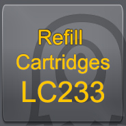 LC233 refillable cartridges