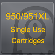 950/951XL Single Use Cartridge