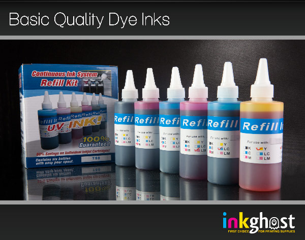 Basic Quality Ink Set - 6 x 120ml HP02
