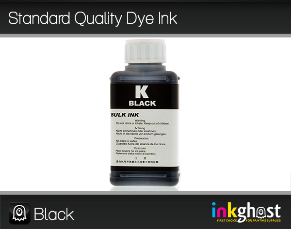 Standard Quality Dye Ink- Black 100ml 8 series