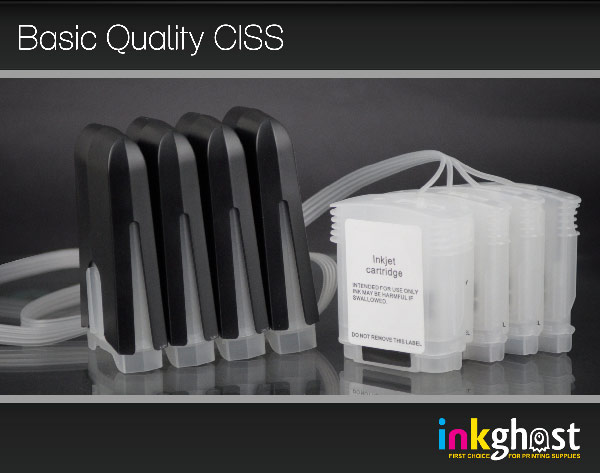Basic Quality 80ml CISS Business Inkjet 1000