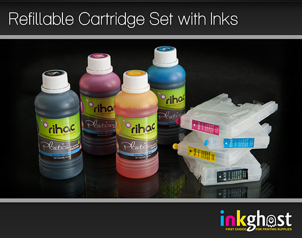 Brother LC77 & LC73 Refillable Cartridges with Premium Inks