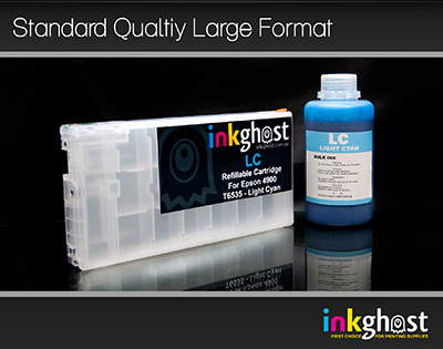 Standard Stylus Pro 4900 Light Cyan Refillable Cartridge & Pigment Ink T6535