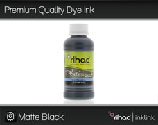 Premium Quality Dye Ink- Matte Black 100ml R1900