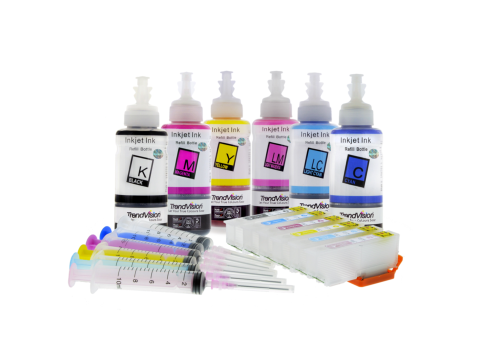 Epson 277 & 277XL Refillable Cartridges & Basic Ink Set XP-850, XP-860, XP-950, XP-960 & XP-970
