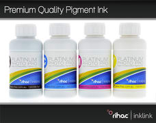 Premium Quality Pigment Ink Set - 4 x 100ml 676/676XL