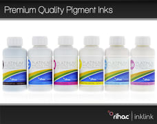 Premium Quality Pigment Ink Set - 6 x 100ml 81, 82 & 82N Series