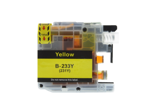 LC233 Yellow Standard Single Use Cartridge