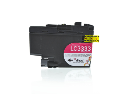 LC3333 Premium Magenta Single Use Cartridge