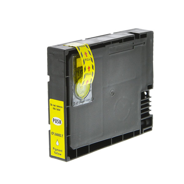 2600XL Standard Yellow Single Use Cartridge