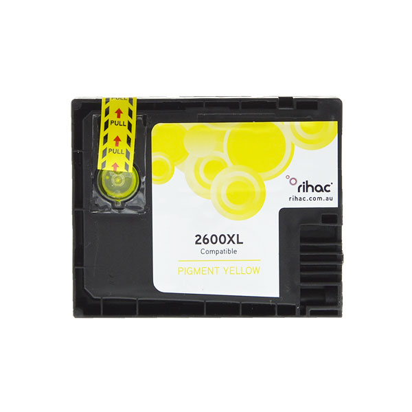 2600XL Premium Yellow Single Use Cartridge