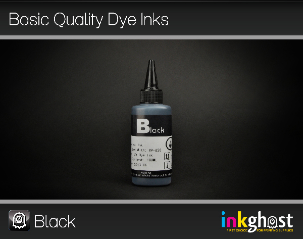 Basic Quality Dye Ink- Black 100ml 273 & 273XL