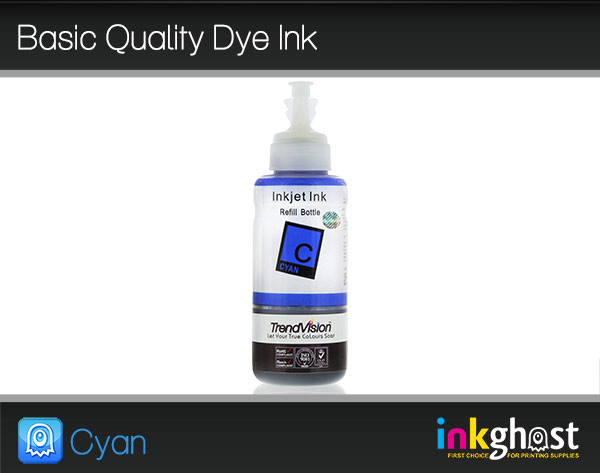 Basic Quality Dye Ink - Cyan 100ml LC37, LC47 & LC57