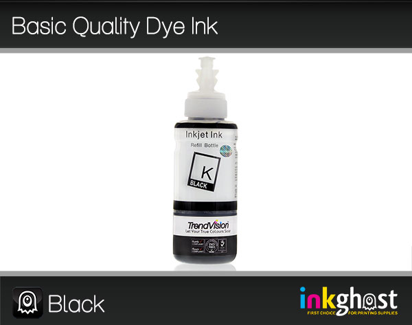 Basic Quality Dye Ink - Black 100ml LC37, LC47 & LC57