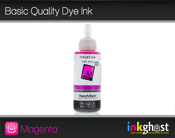 Basic Quality Dye Ink - Magenta 100ml LC37, LC47 & LC57