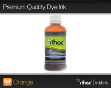 Premium Quality Dye Ink- Orange 100ml R1900