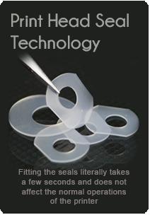 print head seal technology, canon print head seals by rihac