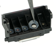 canon print head with seals
