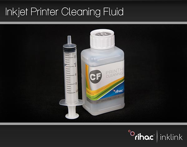 100ml Rihac Piezo Print Head Cleaning Fluid For Canon Inkjet printers with  Syringe [100mlcleanin]