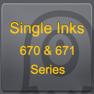 SINGLE INKS - 670/671 Series