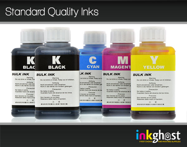 Standard Quality Ink Set - 5 x 100ml 520/521 & 525/526
