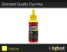 Standard Quality Dye Ink- Yellow 100ml LLC131, LC133, LC135 & LC137