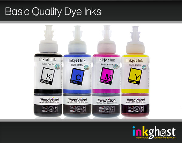 Basic Quality Ink Set- 4 x 100ml  LC233, LC235 & LC239