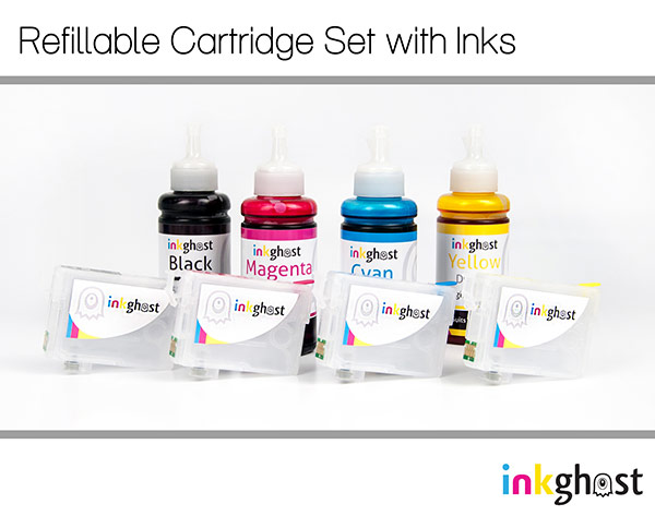 Epson 200 & 200XL Refillable Cartridges & Standard Refill Ink