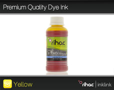 Premium Quality Dye Ink- Yellow 100ml LC131, LC133, LC135 & LC137