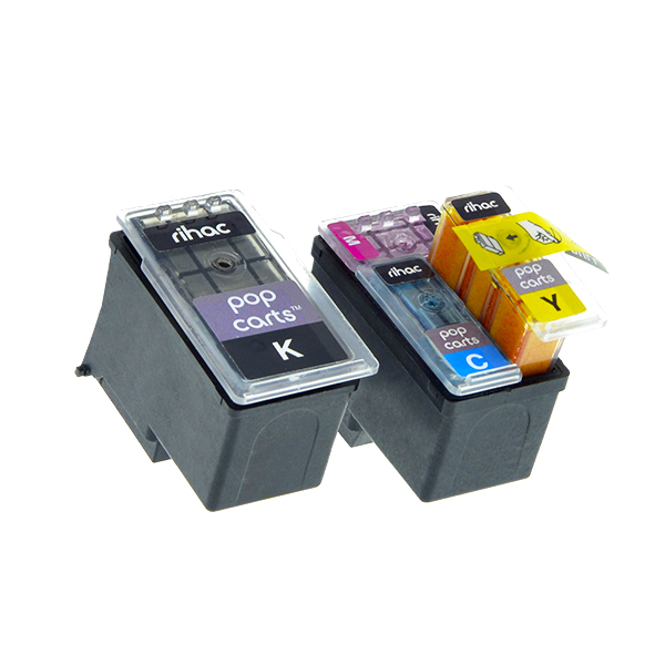 Details about Rihac Pop Carts for Canon PG640 CL-641 TS5160 MX476 MG3660  Smart cart ink insert